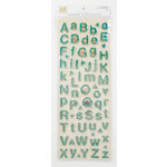 Colorbok - Heidi Grace Designs - Tweet Memories Collection - Puffy Prism Stickers - Alphabet