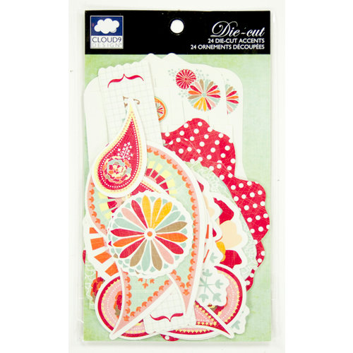 Colorbok - Cloud 9 Design - Fiesta Collection - Die Cut Cardstock Pieces - Accents