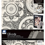 Colorbok - Cloud 9 Design - Nightshade Collection - 12 x 12 Specialty Paper Pad - Gloss