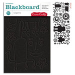 Cosmo Cricket - Cogsmo Collection - Blackboard Shapes - Cogsmo