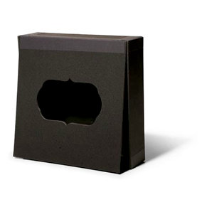 Cosmo Cricket - Blackboard Collection - 6 x 6 Memory Box
