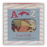Cosmo Cricket - Cigar Box with Chipboard Pieces and Shapes - Dutch Girl, CLEARANCE