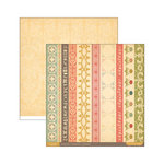 Cosmo Cricket - Evangeline Collection - 12 x 12 Double Sided Paper - Sashing