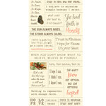 Cosmo Cricket - Cardstock Stickers - Tiny Text - Faith