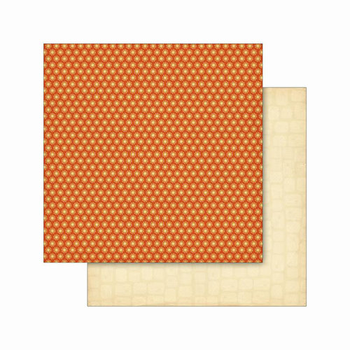 Cosmo Cricket - Smore Love Collection - 12 x 12 Double Sided Paper - Campfire