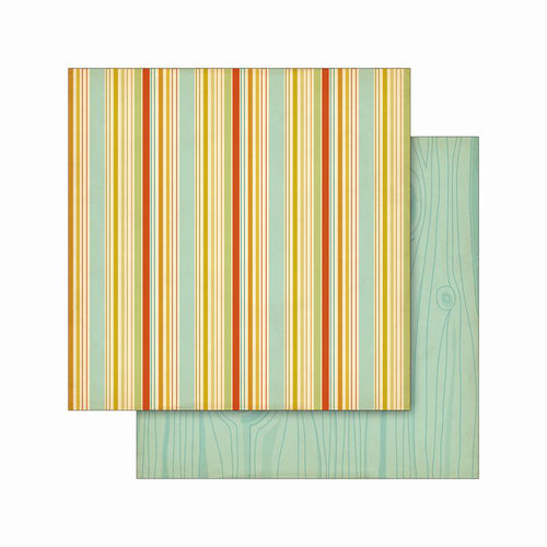 Cosmo Cricket - Smore Love Collection - 12 x 12 Double Sided Paper - Picnic