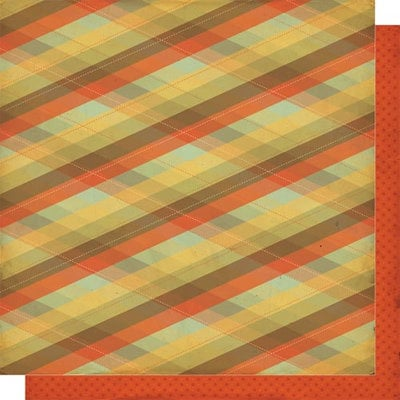Cosmo Cricket - Mr Campy Collection - 12x12 Double Sided Paper - Flannel