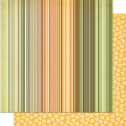Cosmo Cricket - Earth Love Collection - 12 x 12 Double Sided Paper - Repeat