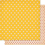 Cosmo Cricket - Garden Variety Collection - 12 x 12 Double Sided Paper - Sunshine