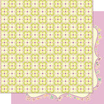 Cosmo Cricket - Pixie-Licious Collection - 12 x 12 Double Sided Paper - Fairy Rings