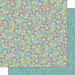 Cosmo Cricket - Pixie-Licious Collection - 12 x 12 Double Sided Paper - Flower Fields