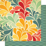 Cosmo Cricket - Salt Air Collection - 12 x 12 Double Sided Paper - Sea Garden