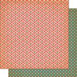 Cosmo Cricket - Dear Mr. Claus Collection - Christmas - 12 x 12 Double Sided Paper - Fa-La-La-La-La