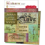 Cosmo Cricket - Fleuriste Collection - Cardstock Stickers - Fleuriste, CLEARANCE