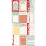 Cosmo Cricket - Dutch Girl Collection - Journaling Cards, CLEARANCE