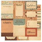 Cosmo Cricket - Gretel Collection - Journaling Cards, CLEARANCE