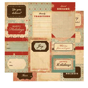 Cosmo Cricket - Be Good Collection - Journaling Cards, CLEARANCE