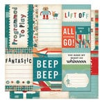 Cosmo Cricket - Cogsmo Collection - Journal Cards - Cogsmo, CLEARANCE