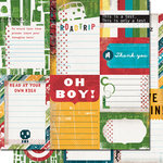 Cosmo Cricket - Get Happy Collection - Journaling Cards - Get Happy