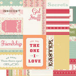 Cosmo Cricket - Honey Pie Collection - Journal Cards - Honey Pie, CLEARANCE