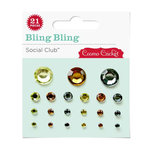 Cosmo Cricket - Social Club Collection - Bling Bling - Jewels