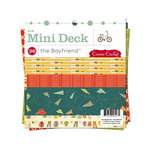 Cosmo Cricket - The Boyfriend Collection - Mini Deck - 6 x 6 Paper Pad