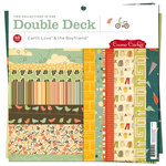 Cosmo Cricket - Earth Love Collection - Earth Love and The Boyfriend Collections - Double Deck 12 x 12 Paper Pad, CLEARANCE