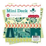Cosmo Cricket - Social Club Collection - Mini Deck - 6 x 6 Paper Pad