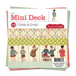 Cosmo Cricket - Odds and Ends Collection - Mini Deck - 6 x 6 Paper Pad