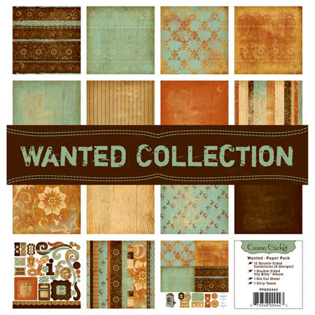 Cosmo Cricket - Paper Pack - Wanted