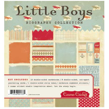 Cosmo Cricket - Biography Collection - Collection Pack - Little Boys