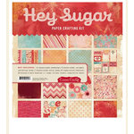 Cosmo Cricket - Hey Sugar Collection - Valentine's Day - Paper Crafting Kit