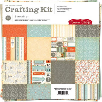 Cosmo Cricket - Everafter Collection - Paper Crafting Kit