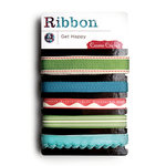 Cosmo Cricket - Get Happy Collection - Ribbon - Get Happy