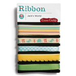 Cosmo Cricket - Jack's World Collection - Ribbon, CLEARANCE