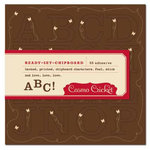 Cosmo Cricket - Gretel Collection - Ready-Set-Chipboard - Flutterby, CLEARANCE