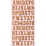 Cosmo Cricket - Ready Set Chipboard - High Noon Alphabet