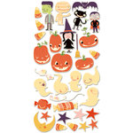 Cosmo Cricket - Matilda Collection - Halloween - Ready Set Chipboard