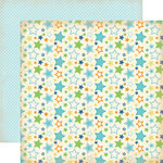 Carta Bella Paper - Baby Mine Collection - Boy - 12 x 12 Double Sided Paper - Stars