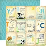Carta Bella Paper - Baby Mine Collection - Boy - 12 x 12 Double Sided Paper - Boy Nursery Rhymes