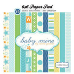 Carta Bella Paper - Baby Mine Collection - Boy - 6 x 6 Paper Pad
