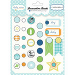 Carta Bella Paper - Baby Mine Collection - Boy - Brads