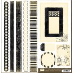 Crate Paper - Crate Bands Tags and Frames - Avenue Collection, CLEARANCE