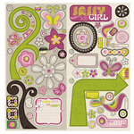 Crate Paper - Bliss Collection - Chipboard Stickers - Accents, CLEARANCE