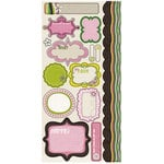 Crate Paper - Bliss Collection - Cardstock Stickers - Journal, CLEARANCE