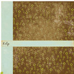 Crate Paper - Double Sided Textured Paper - Crush Collection - Kelp, CLEARANCE