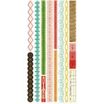 Crate Paper - Emma's Shoppe Collection - Cardstock Stickers - Borders