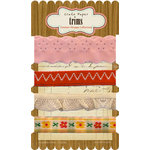 Crate Paper - Emma's Shoppe Collection - Ribbon and Trims