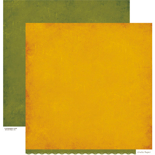 Crate Paper - Farmhouse Collection - 12 x 12 Double Sided Paper - Sweet Corn