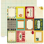 Crate Paper - Farmhouse Collection - 12 x 12 Double Sided Paper - Accent Cuts